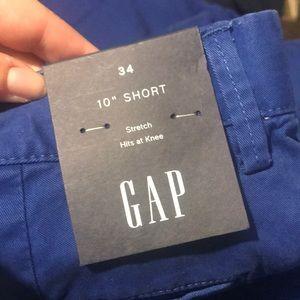 """GAP Shorts - NWT • cobalt blue 10"""" gap shorts"""